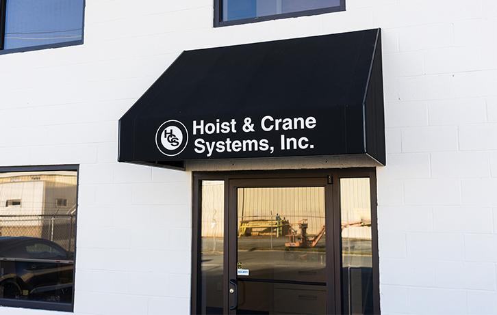 Hoistcrane About Banner